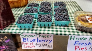 Yummy blueberries for a great price
