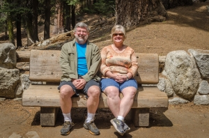Enjoying a beautiful day in Sequoia National Park!
