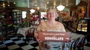 Charlene always LOVES chocolate!