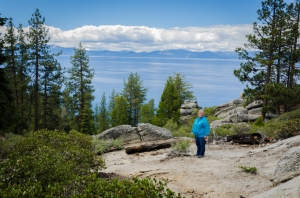 Charlene at Lake Tahoe