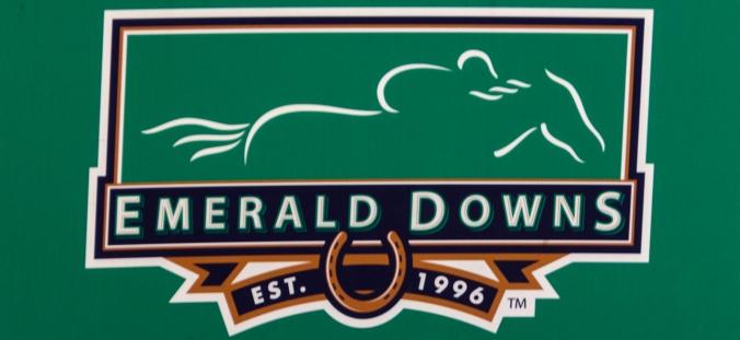 Emerald Downs has beautiful facilities.