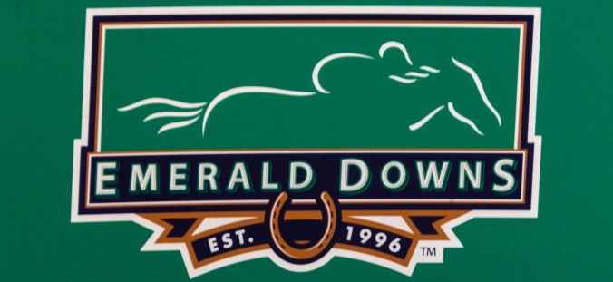 Emerald Downs has beautiful facilities.