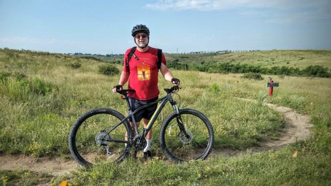 Wonderful mountain biking trails in Amarillo.