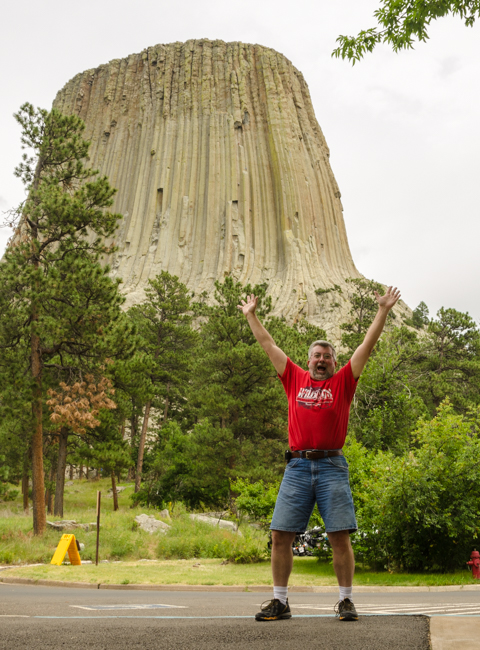 I was excited to see Devils Tower in person!