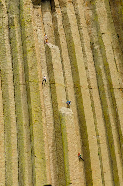 These climbers were amazing to watch.