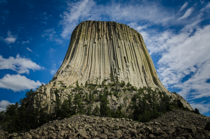 Devils Tower is so impressive!