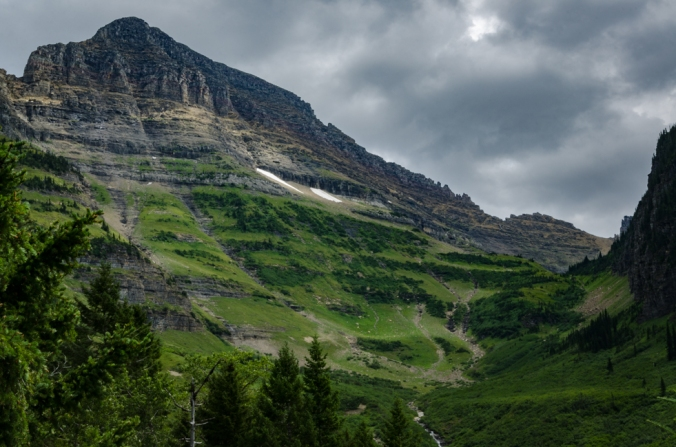 Glacier National Park is rugged and spectacular!
