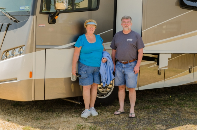Friendly neighbor that has provided very helpful, practical advice when traveling in an RV.