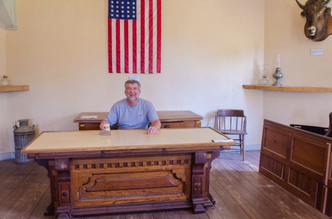 The judge used this actual table and court room!
