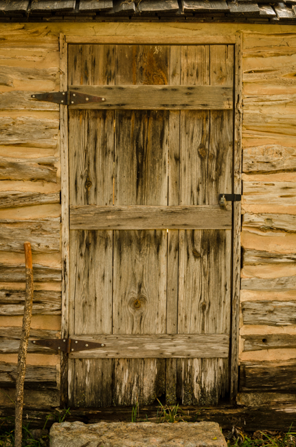 For some reason, I was drawn to the textures of this door.