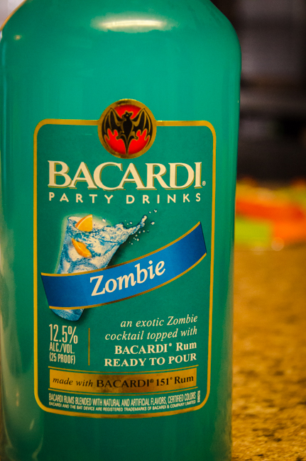 A drink all ..ZOMBIEs love