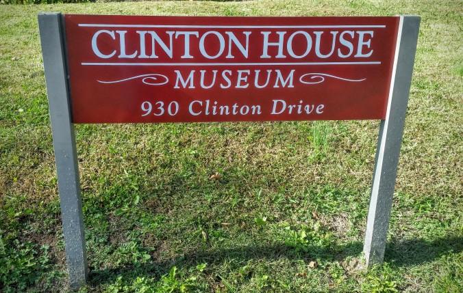Clinton House in Fayetteville.