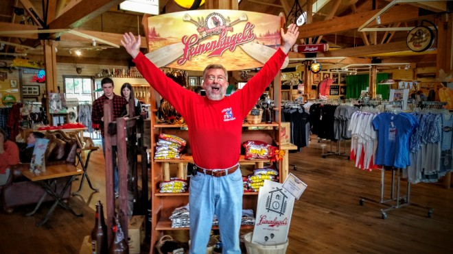 Leinenkugel's brewery is a fun place to visit!