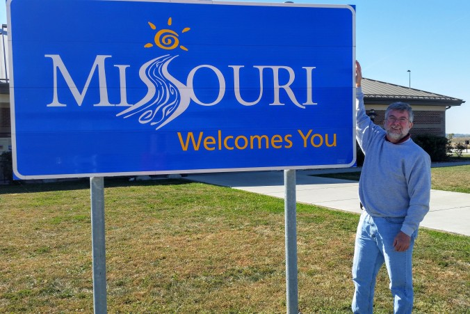 Missouri welcomed me back to the state!