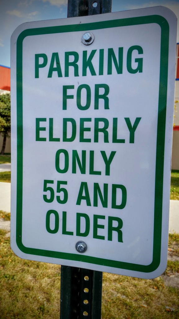 Usually, elderly is defined as at least 65 years of age; however, I meet these guys definition of elderly!