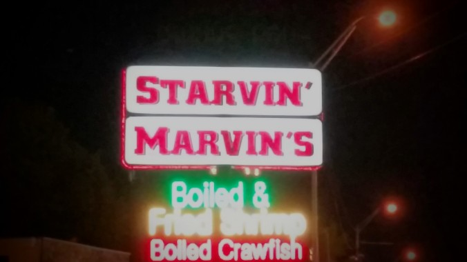 We always knew there had to be a place called Starvin Marvin. Now we finally found it in Branson.