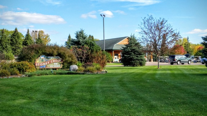 Very picturesque RV park.