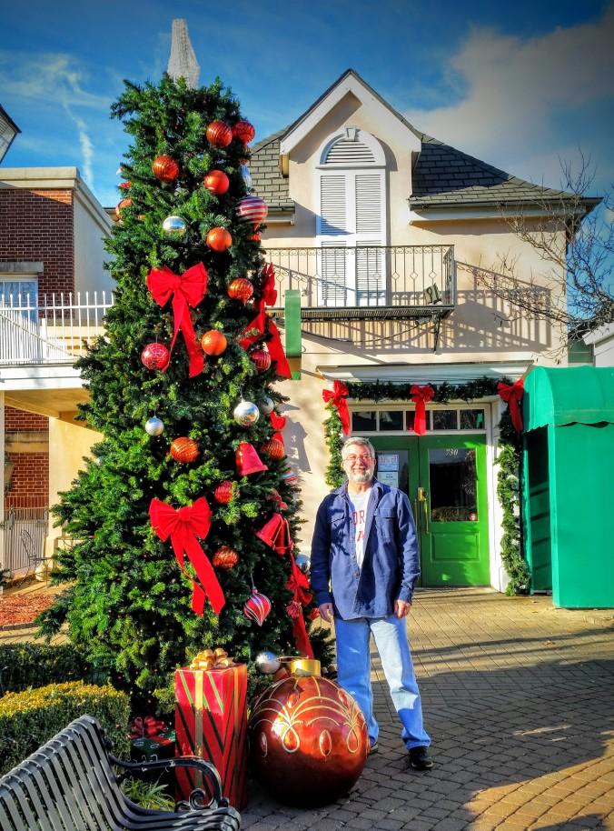 Ed Christmas tree