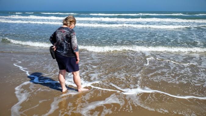 Charlene South Padre Island beach
