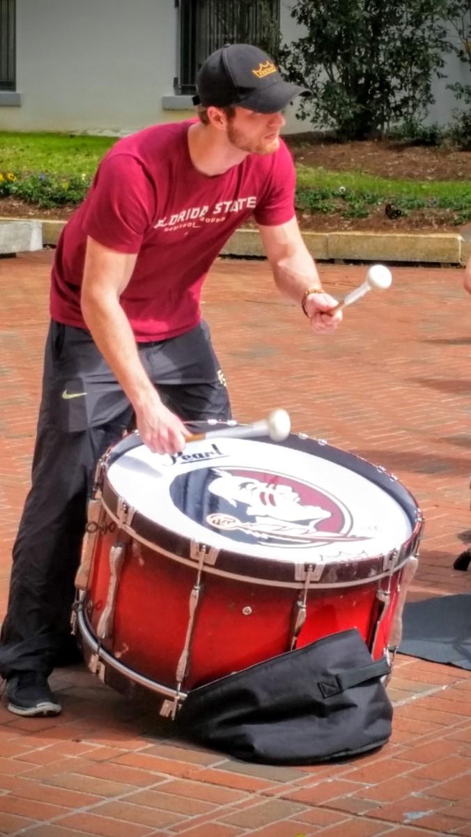 FSU drummer