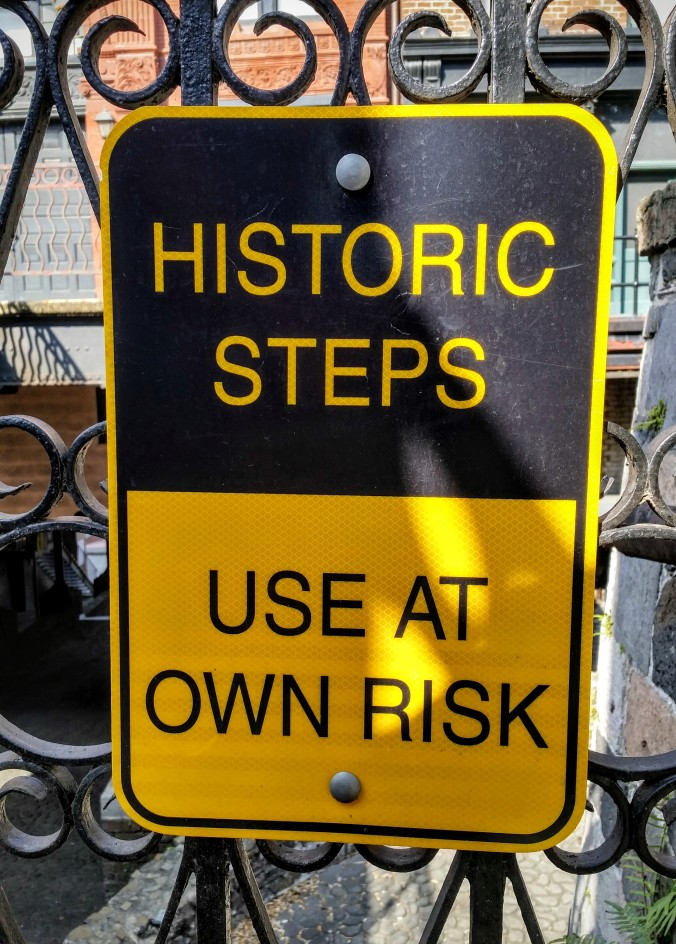 historic steps