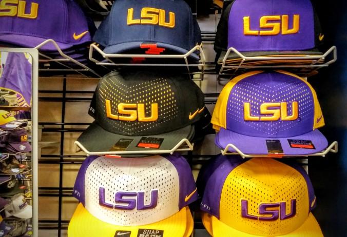 LSU hats