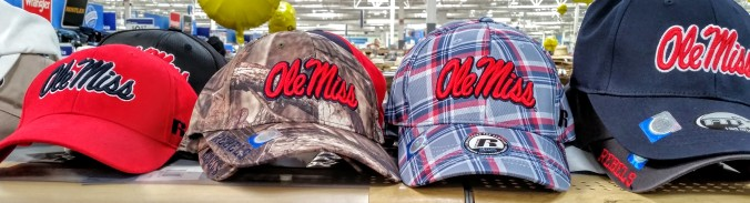 Ole Miss hats
